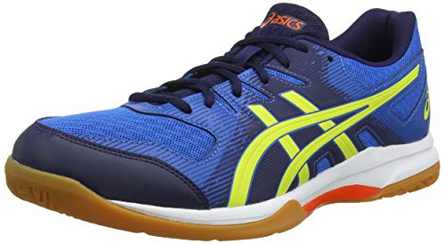 ASICS Herren Gel-Rocket 9 Volleyballschuhe, Blau (Blue 1071A030-400), 42 EU