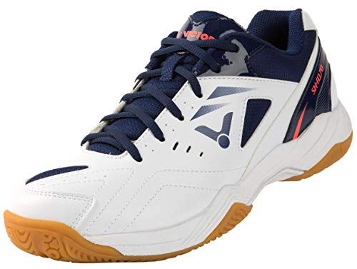 VICTOR Unisex SH-A170 Badminton-Schuh, Weiß/Blau, 40.5 EU