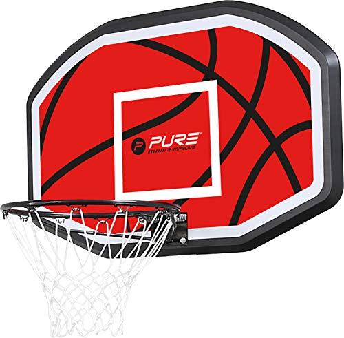 Pure 2 Improve Basketball Backboard Basketballrückwand für Indoor und Outdoor - 45cm Ring