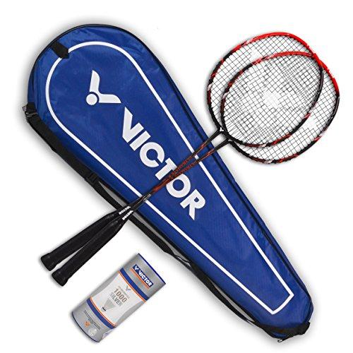 VICTOR Badminton Ultramate 6 Set, matt beige, 68x21x5