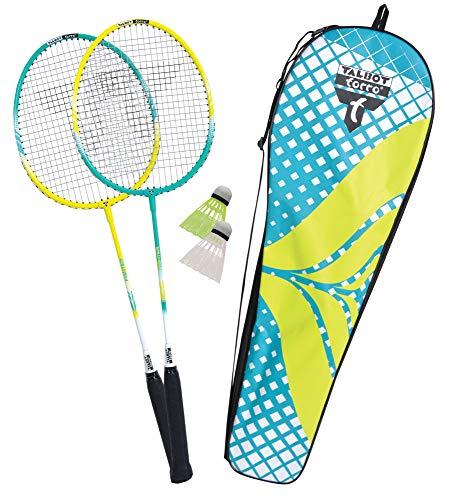 Talbot Torro Unisex-Adult Badminton-und Federball, 2-Fighter Set, 449403, One Size