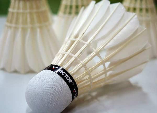 Badminton Badminton Federbälle Badmintonbälle Bälle Federball 3er Set Kunststoff Sport